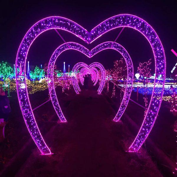 Purple LED String Lights