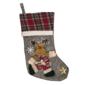 Reindeer Christmas Stocking