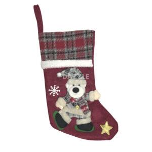 Polar Bear Christmas Stocking