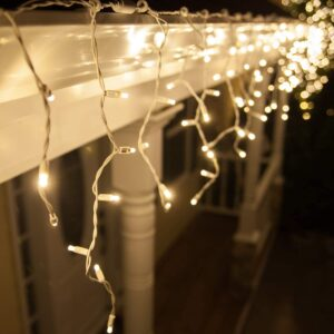 Curtain Icicle lights