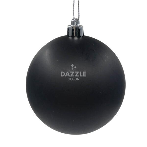 Meryl Black Christmas Baubles