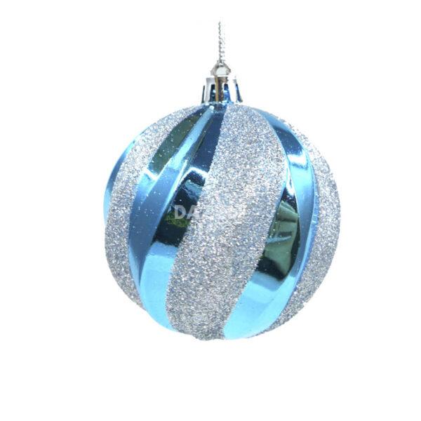 Eumelia-Baubles Blue Silver