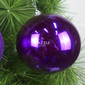Purple Shiny Bauble